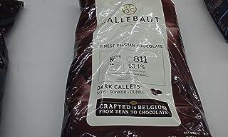 Callebaut Belgian Dark Chocolate Baking Callets (Chips) - 52.3 % 1 Bag, 22 Lbs,, 22 Lb ()