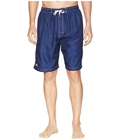 TYR Tahoe Challenger Swim Shorts (Navy) Men