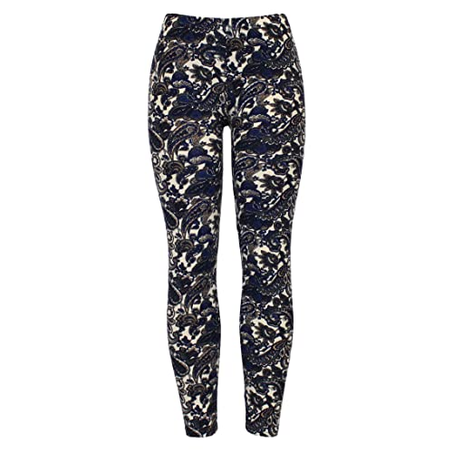 New Ladies Womens High Quality Stretchy Printed Leggings UK Size 8 10 12  14
