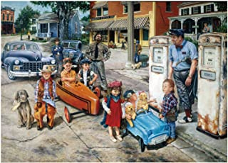 NEW DANCE 1000 Pieces Jigsaw Puzzles for Adult, Kid, Country Life Art Picture Interesting Decompressing Toys Educational I...