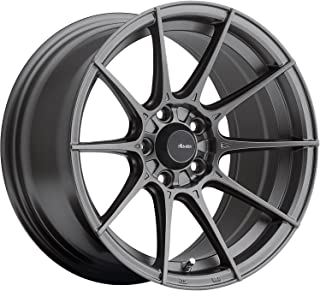 Advanti Racing Storm S1 15 Gray Wheel / Rim 4x100 with a 25mm Offset and a 73.1 Hub Bore. Partnumber SM5810030G