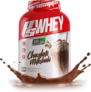 Pro Supps Whey Chocolate Milkshake 5 Pounds, White, 5 Pound