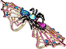Betsey Johnson - Gold Spider Ring