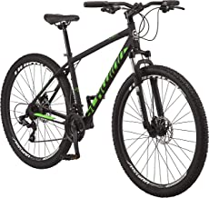 Schwinn High Timber Youth and Adult Mountain Bike, Aluminum and Steel Frame Options, 7-21 Speeds Options, 24-29-Inch Wheel...