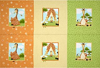 44'' Wide World of Susybee Zoe Panel Squares Multi Fabric By The Panel