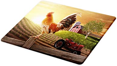 Best rooster glass cutting board Reviews
