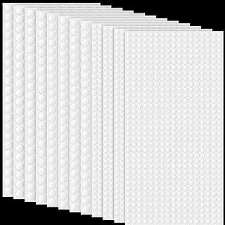12 Sheets Foam Dots Dual-Adhesive 3D Foam Tapes Foam Pop Dots Adhesive Round Double Sided Dual-Adhesive 3D Foam Tapes for ...