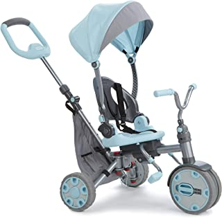 Little Tikes Fold 'N Go 5-in-1 Trike – Sky Blue (Renewed)