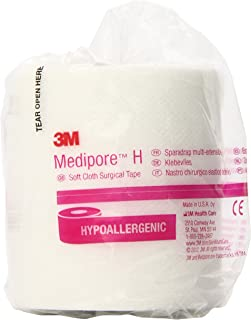 3M Medipore H Soft Cloth Tape 2863 (Pack of 12)