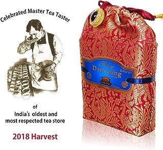 Rare Darjeeling Tea Leaves 2018 HARVEST (50 CUPS), Autumn Season Darjeeling Black Tea - Flowery, Aromatic & Delicious, Picked from India 3.5 Oz, Single Estate, Fresh Harvest