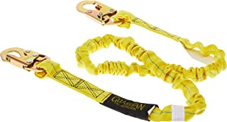 Guardian Fall Protection 11200 IS-72 6-Foot Internal Shock Lanyard with snap hooks