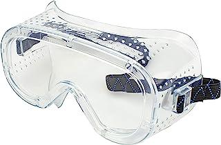عینک محافظ ضد مه ، محافظت در برابر مه ، Neiko 53874A با دید گسترده ، نرم نرم ، قابل تنظیم و سبک