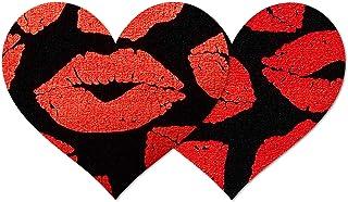 Nippies Style Hot Lips Heart Waterproof Self Adhesive Nipple Cover Pasties