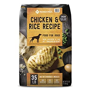 Member's Mark Member's Mark Exceed Dry Dog Food, Chicken & Rice (35 Pound ), 35 Pound