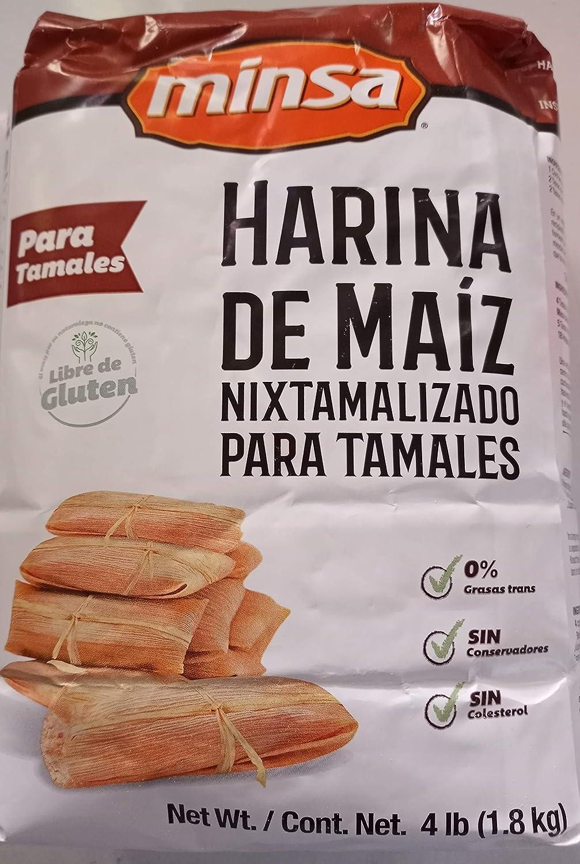 MINSA HARINA DE MAIZ NIXTAMALIZADO CORN INSTANT Selling MA PARA TAMALES Max 45% OFF