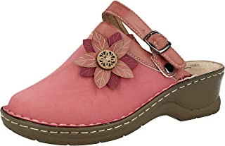 LADIES MOCCASIN WARM VELOUR LIGHTWEIGHT CUSHION SLIPPERS SHOES,UK 3-8 AMBER
