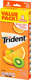 Trident Value Pack 8 count - Tropical