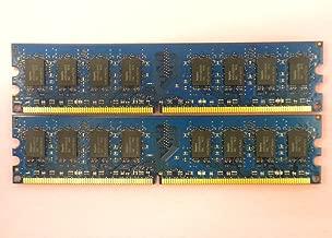4GB 2X2GB RAM PC2-6400U 800MHZ 2RX8 DDR2 NON-ECC Unbuffered For DESKTOP Memory