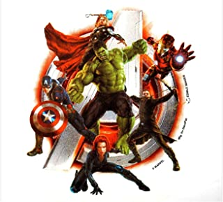 Pack of 6 - Avengers 2 - Initiate, Lucks Edible Image Decorations.