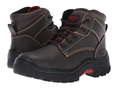 SKECHERS Work Burgin Krabok (Brown) Women