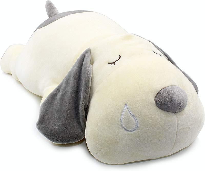 Vintoys Very Soft Dog Big Hugging Pillow Plush Puppy Stuffed Animals Gray 23 5