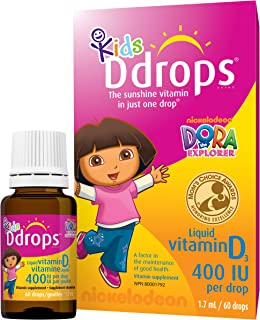 D Drops Kids Liquid Vitamin D (60 Drops)