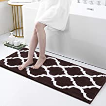 Olanly Luxury Bathroom Rugs Microfiber Bath Shower Mat, Machine Wash and Dry, Non-Slip Absorbent Shaggy Carpet Bath Mat fo...