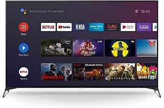 تلفزيون سوني كيه دي- 75X9500H، الترا اتش دي فول، 75 انش 4 كيه، ليد بنظام اندرويد ذكي بنطاق ديناميكي عالي