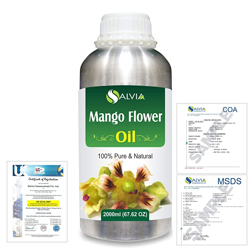 非アクティブチーズ速記Mango Flowers (Mangifera indica) 100% Natural Pure Essential Oil 2000ml/67 fl.oz.