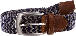 "1 1/4"" Braided Elastic Stretch Woven Belt"
