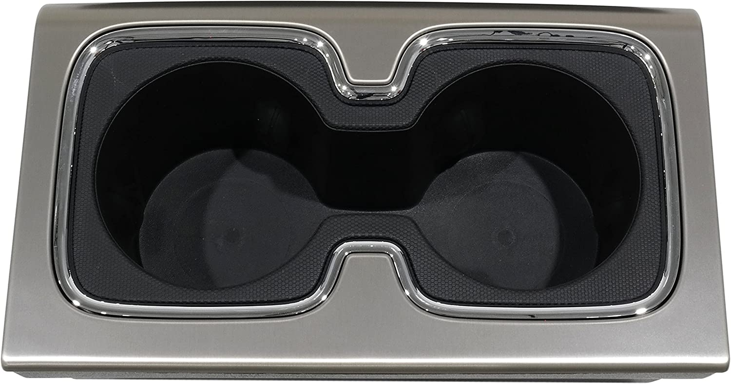 Limited time sale GMC OEM New Center Console favorite Cup 15-16 Holder Silve Chrome Burnish