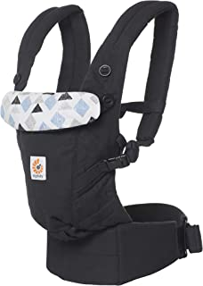 Kinderkraft Portabebes ergon/ómico Nino Portador de beb/é Compacto Ultraligero Transpirable multiposici/ón Gris Dorsal y ventral para reci/én Nacidos y ni/ños de 9 Meses A 20kg Certificado IHDI