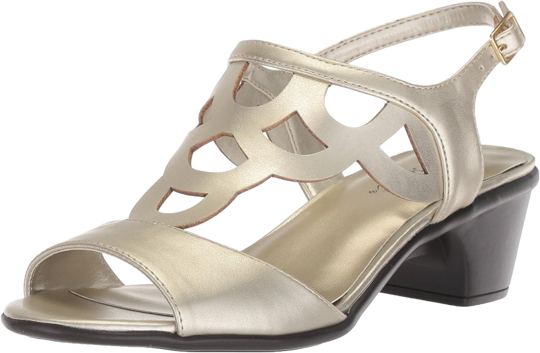 Easy Street damen 39;s 39;s Outshine Heeled Sandal, Champagne, 7.5 M US  billig