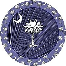 Thirstystone Stoneware Coaster Set, Navy Blue Palmetto