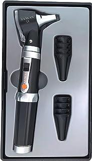 TAXXAN LED Pocket Fiber Optic Otoscope Set ENT Diagnostic Set with Adult, Child, Infant Specula Tips