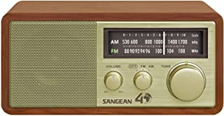 Sangean WR-11SE AM/FM Table Top Radio 40th Anniversary Edition