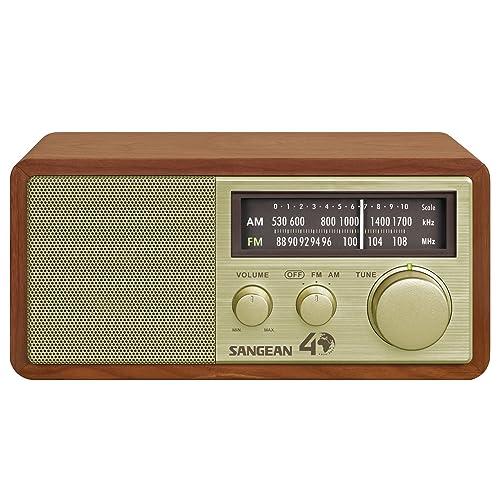 Victrola Vintage Style Wooden Bluetooth Table AM FM Radio CD Player Retro