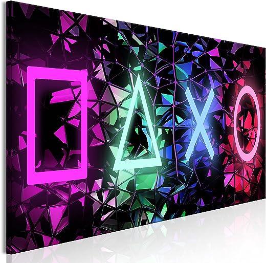 murando – Bilder für Gamers Spielkonsole 120×40 cm Vlies Leinwandbild 1 TLG Kunstdruck modern Wandbilder XXL Wanddekoration Design Wand Bild-…