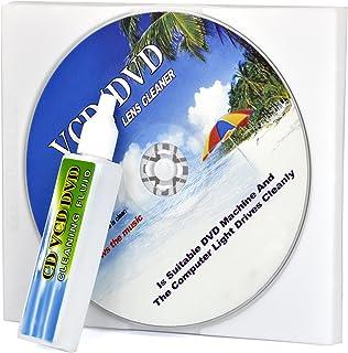 TRIXES Nettoyant pour tête laser de lecteur de CD/DVD