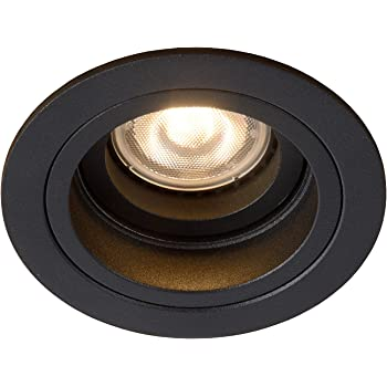 noir mat 112910 Maximum 50/ W SLV Corne GU10/ Downlight rond