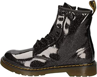 Kid's Collection Womens 1460 Patent Glitter Toddler Brooklee Boot