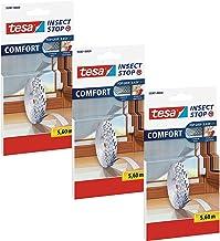 TESA Comfort Refill Roll Vliegengaas Velcro reserverol, blanco (3x 5,6m (standaard))