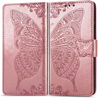 Minwu Wallet Case for Samsung Galaxy M01 Core,[Scratch Resistant] [Flip cover] [Bracket function] Ultra-thin Leather +TPU ...