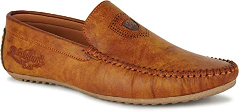 A-FASHION Latest LAOFER Shoes for Mens in Brown Colour