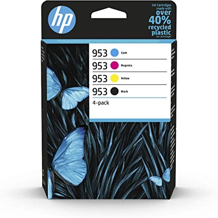 HP 953 4-pack Black/Cyan/Magenta/Yellow Original Ink Cartridges