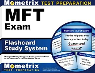 MFT Exam Flashcard Study System: Marriage and Family Therapy Test Practice Questions & Review for the Examination in Marital and Family Therapy (Cards)
