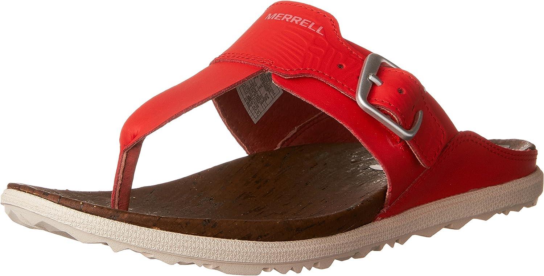 Merrell Womens Around Town Post Print Sport Sandals