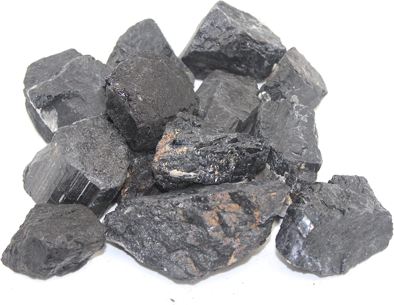 New Free Shipping Crystalo - Brand new 1lb Bulk Rough Crystals Brazil from Tourmaline Black