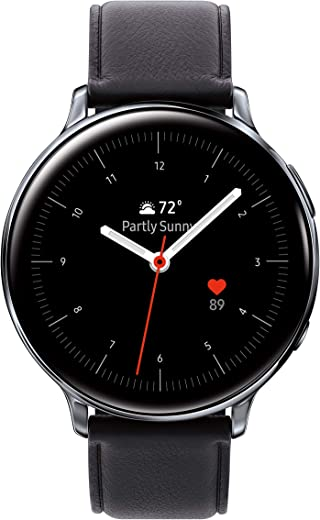 SAMSUNG Galaxy Watch Active 2 (40mm, GPS, Bluetooth, Unlocked LTE) Smart Watch with Advanced Health monitoring, Fitness Tracking , and Long lasting…