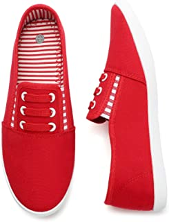 Women's Canvas Slip On Shoes Sneakers for Women Fashion...